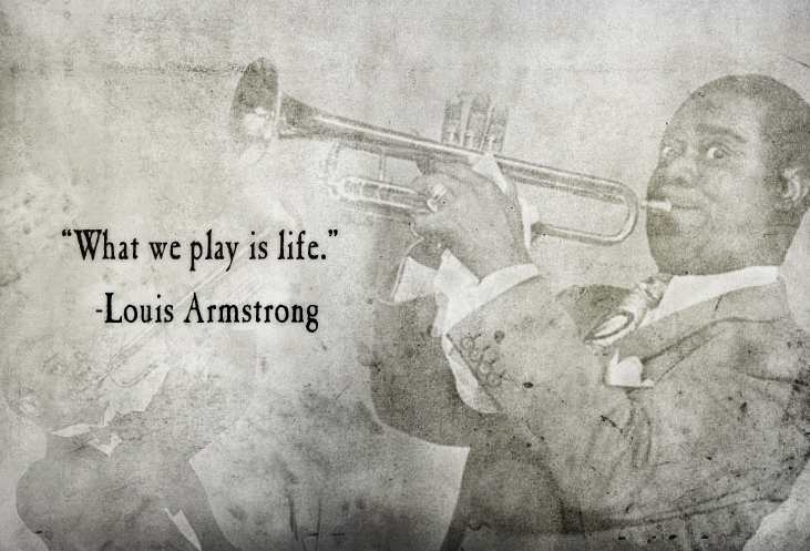 an analysis of the jazz contribution by louis armstrong Music is my life is the first comprehensive analysis of louis armstrong's autobiographical writings (including his books, essays and popular culture, as well as general readers interested in armstrong's life and music, jazz, and twentieth-century entertainment.